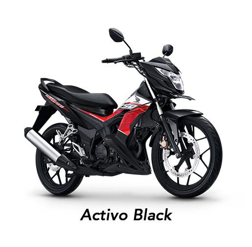 Honda Sonic 150 Activo Black