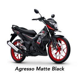 Honda Sonic 150 Agresso Matte Black