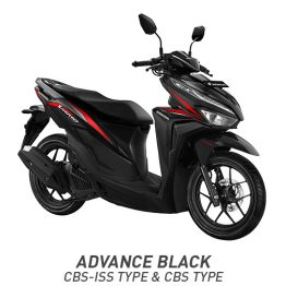 New Vario Techno 125 Advance Black CBS & ISS