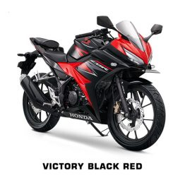CBR 150 terbaru Victory Black Red