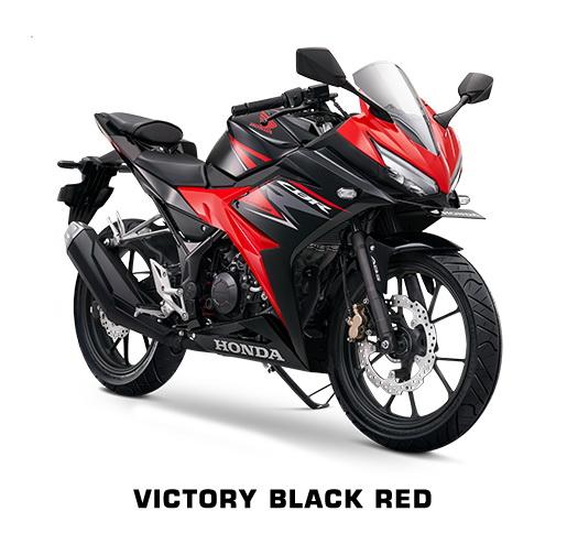 CBR 150 terbaru Victory Black Red