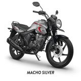 Honda cb 150 verza macho silver CW