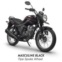 Honda CB 150 verza masculine black