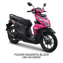 beat sporty cbs iss fusioon magenta black