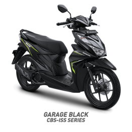 beat sporty cbs iss garage black